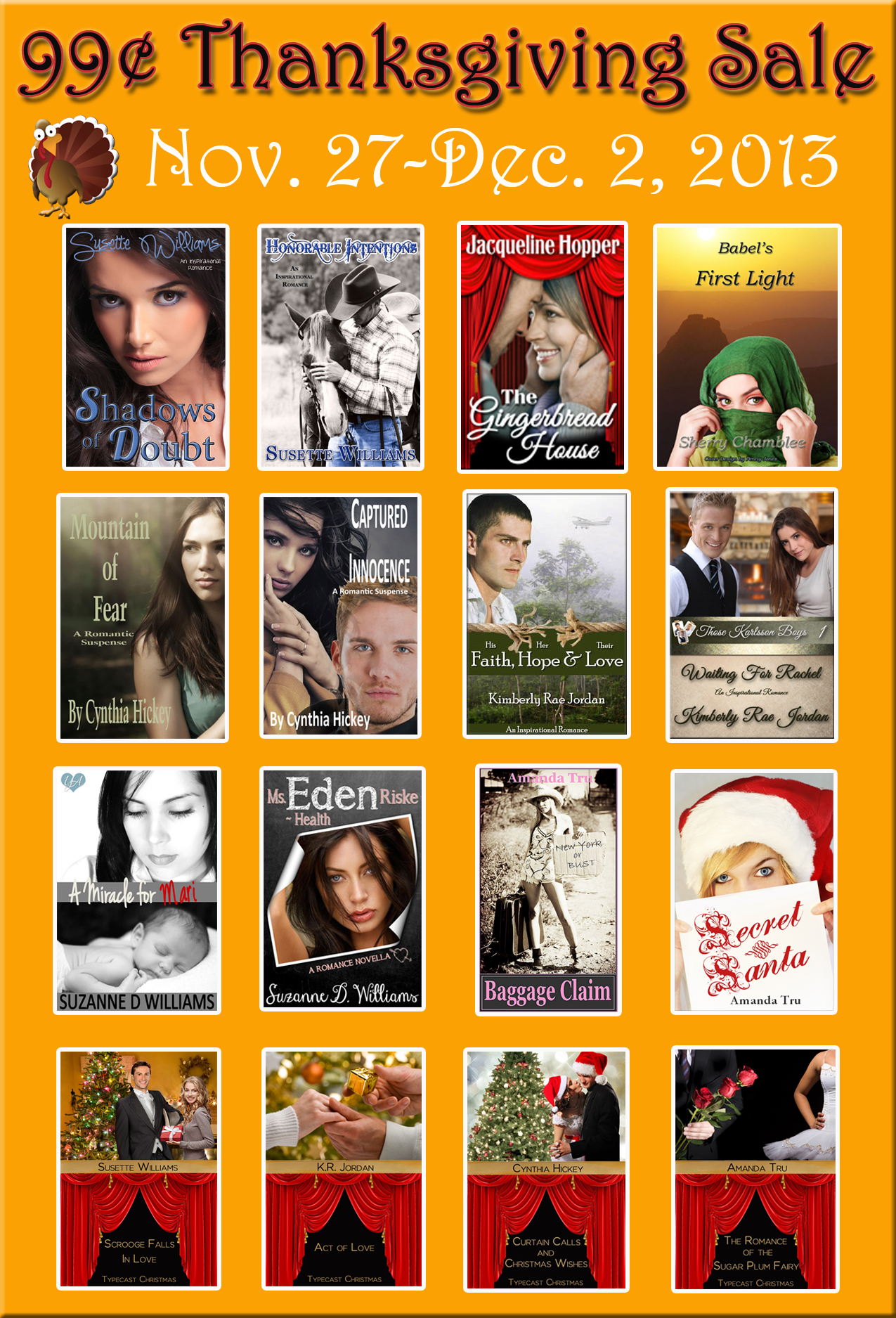 99 cents, sale, Christian fiction